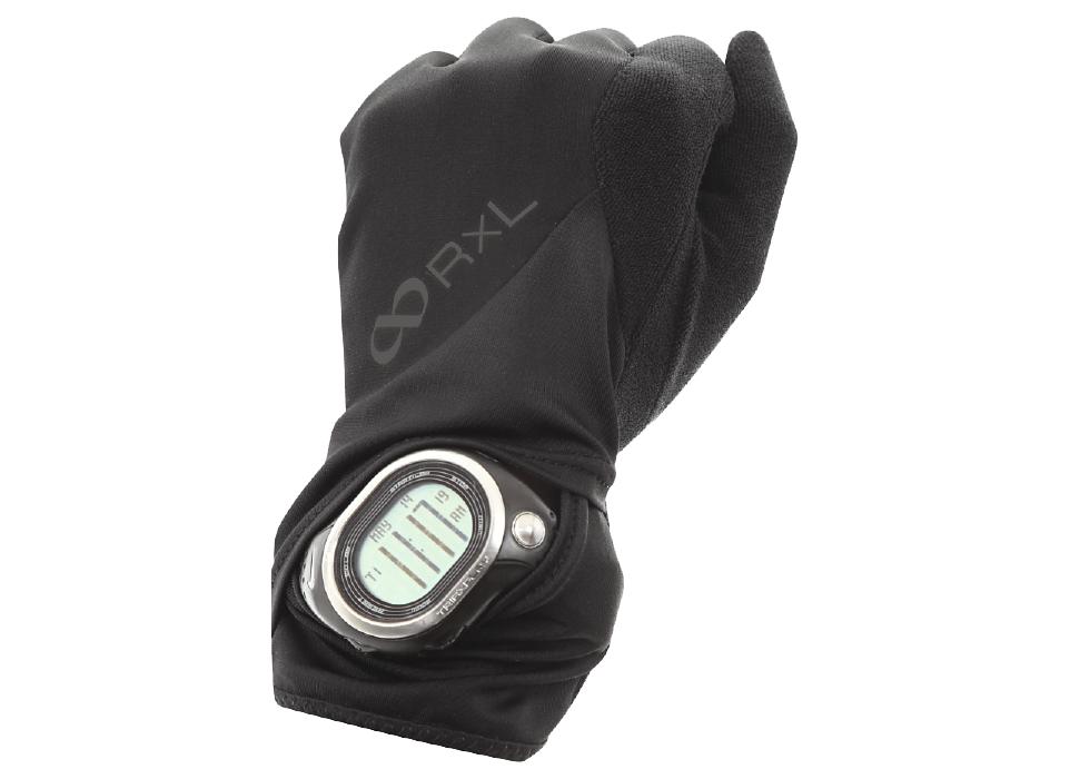 RLA9501 RUNNING GLOVE ランニンググローブ (10)ブラック