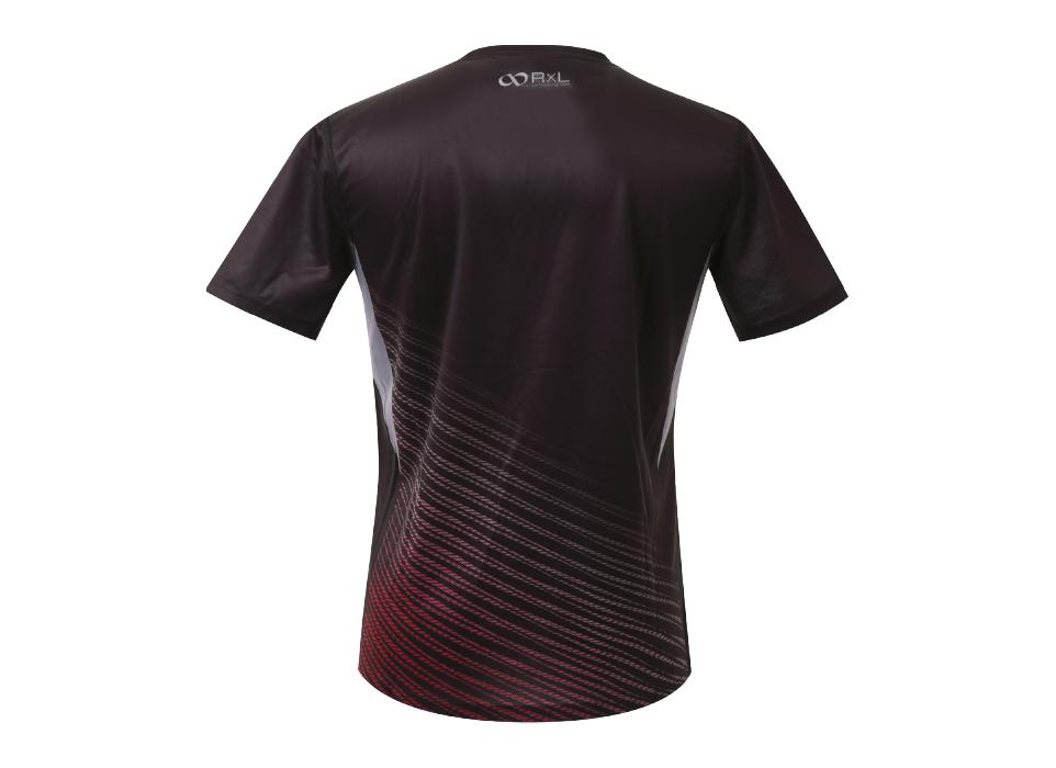 TAT-009 MEN'S T-SHIRTS メンズランニングTシャツ (10)ブラック