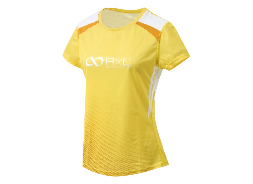 TAT-010 WOMEN'S T-SHIRTS ウィメンズランニングTシャツ (53)ライトイエロー