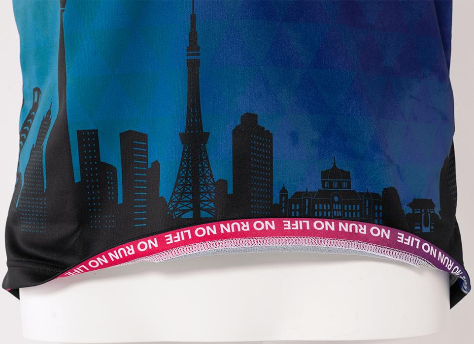 TRA-20TKOM 20TOKYO LIMITED MEN'S ZIP-UP SHIRT SLEEVE WEAR 2020東京限定メンズハーフジップシャツ (10)ブラック
