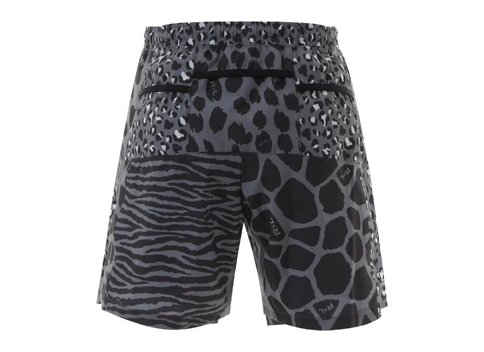 TRP-19OSKM MEN`S6POCKETS SHORT PANTS メンズ6ポケットショートパンツ (1013)ブラック/グレー