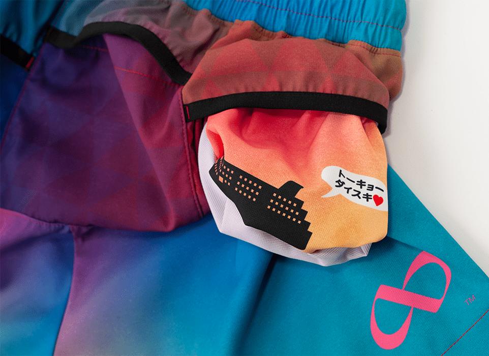 TRP-20TKOW 20TOKYO LIMITED LADY'S6POCKETS SHORT PANTS 2020東京限定レディース6ポケットBOXパンツ (4020)ピンク/ブルー