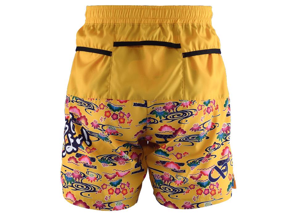 TRP20OKNM7 20OKINAWA LIMITED MEN'S6POCKETS SHORT PANTS 2020沖縄シーサーメンズ6ポケットパンツ (50)イエロー