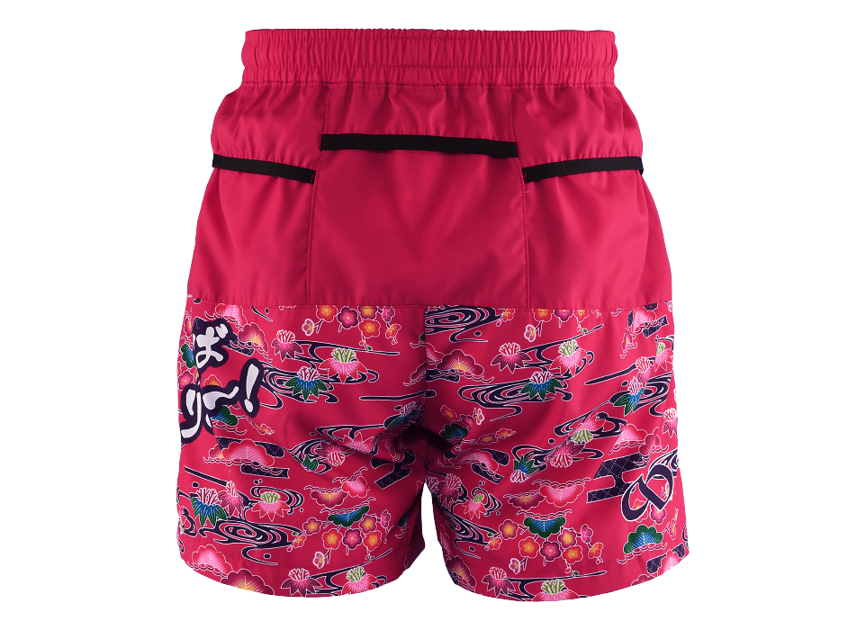 TRP20OKNM7 20OKINAWA LIMITED MEN'S6POCKETS SHORT PANTS 2020沖縄シーサーメンズ6ポケットパンツ (41)ベリーピンク
