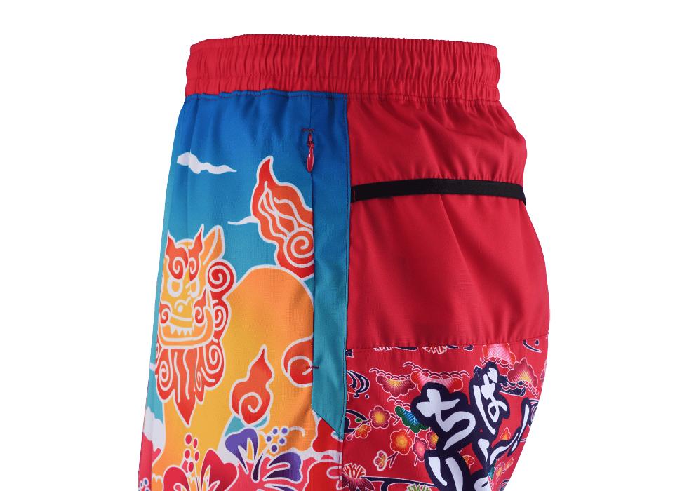 TRP20OKNW5 20OKINAWA LIMITED LADY'S6POCKETS SHORT PANTS 2020沖縄シーサーウィメンズ6ポケットパンツ (41)ベリーピンク