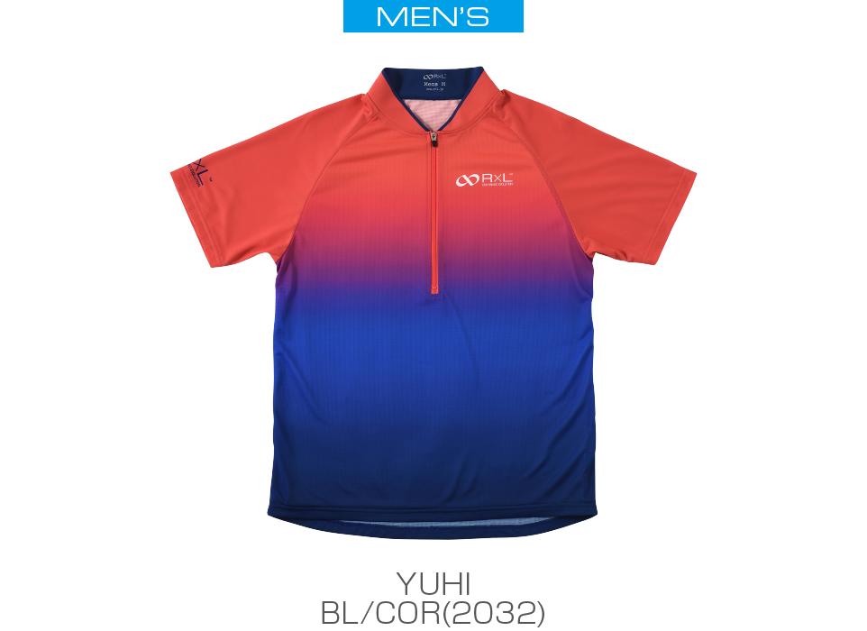(2032)ブルー/コーラルレッド
